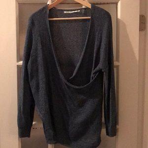 Knit Kimichi and Blue sweater